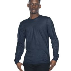 Unisex Fine Jersey Long Sleeve T-Shirt (USA) Thumbnail