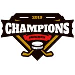 Champions Hockey logo template Thumbnail